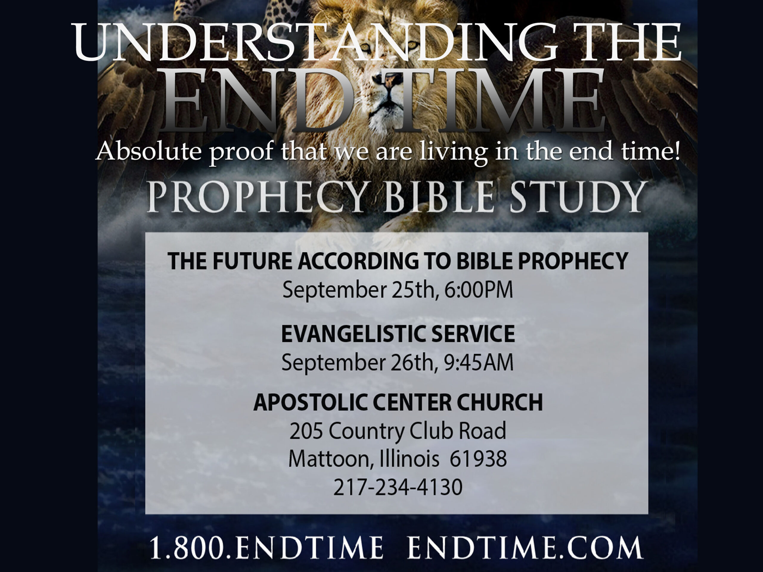 end time prophecy with phone